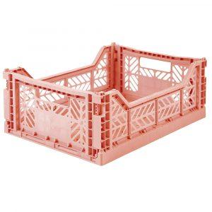 AY-KASA MIDI-BOX - Salmon Pink