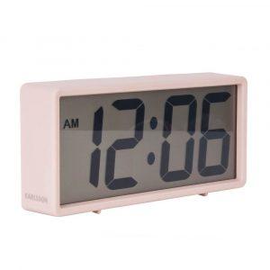 Alarm klok coy rubberized pink