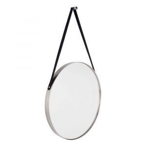 Balanced spiegel rond | Zilver | ø 47 cm