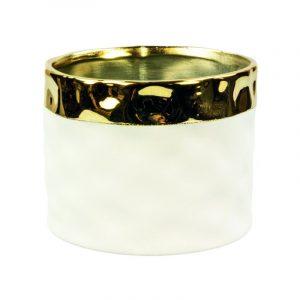 Bloempot golden touch