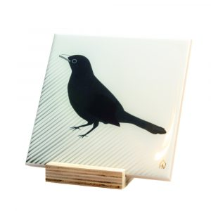 Funky Ceramics - black bird