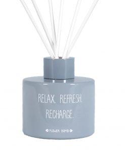 Geurstokjes relax refresh recharge