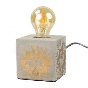 Lamp concrete