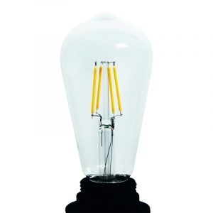 Led filament lamp ST64