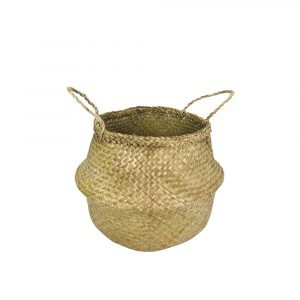 Seagrass mand mini natural
