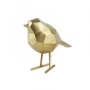 Vogeltje goud present time