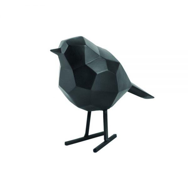 Vogeltje zwart present time
