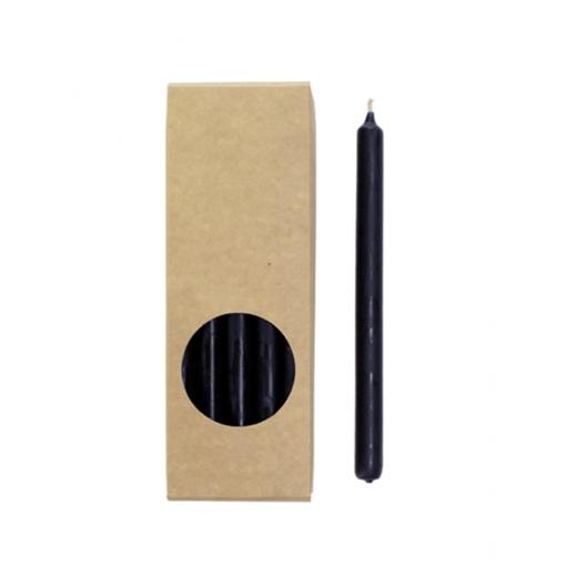 Zwarte potlood kaarsjes