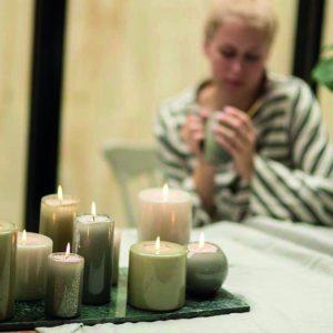 hoogglans kaarsen