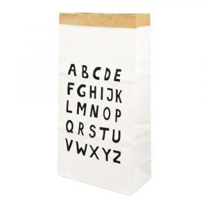 Kraft opbergzak alphabet