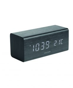 Karlsson Block Led alarm clock