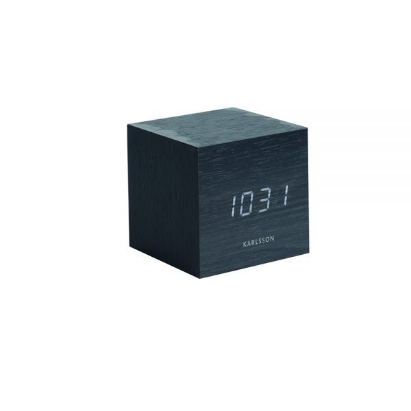 Karlsson Mini Cube alarm clock