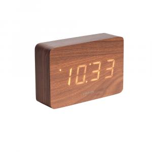 Square led alarm clock bruin