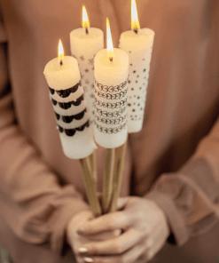 Kerzen im Freien