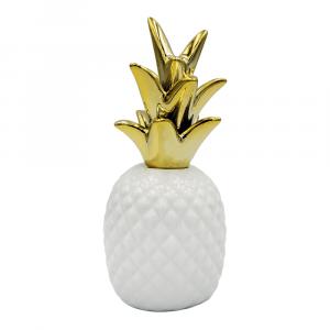 Ananas wit met goud large