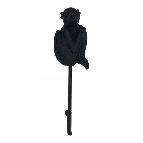 Wandhaak aap zwart
