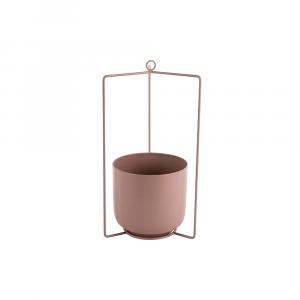 Hangende bloempot spatiel roze_01