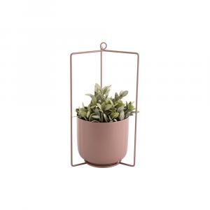 Hangende bloempot spatiel roze_02