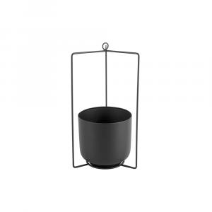 Hangende bloempot spatiel zwart_01