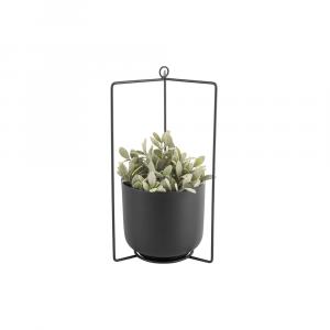 Hangende bloempot spatiel zwart_02