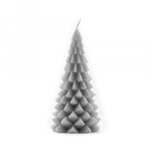 Kerstboom-kaars-koel-grijs-medium