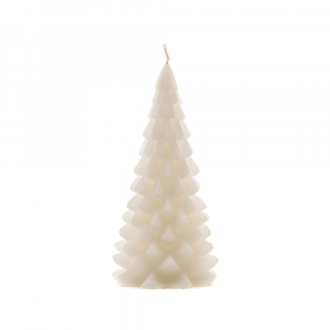 Kerstboom-kaars-wit-medium