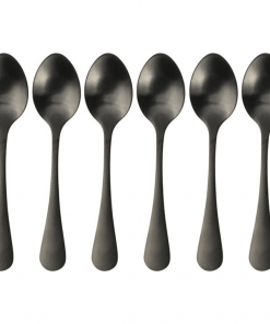 koffie-lepeltjes-mat-zwart-6-delig
