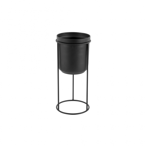 Bloempot tub zwart _01