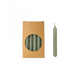 Potlood kaarsjes eucalyptus 1,2 x 10 cm