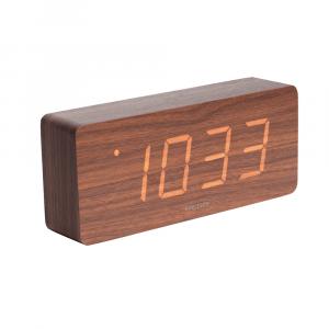 Tube led alarm clock bruin