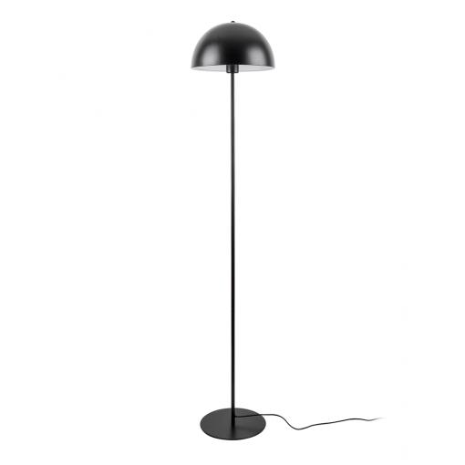 Vloerlamp bonnet zwart