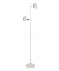 Vloerlamp delicate wit