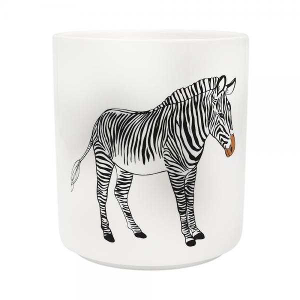 Bloempot zebra van Housevitamin