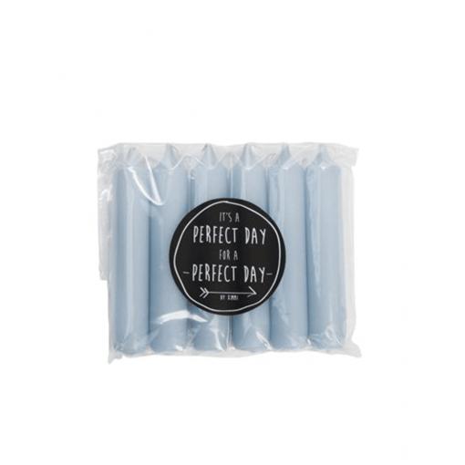 Dinerkaarsen chalk blue van Rustik Lys