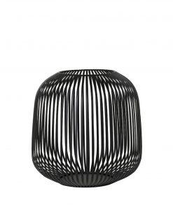 Lantaarn lito zwart medium van Blomus