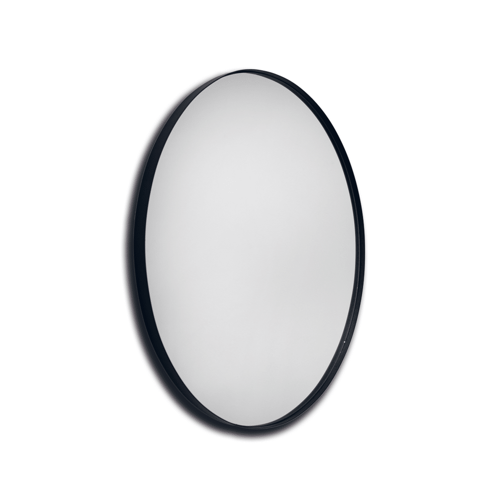 Beste Ronde spiegel met zwarte rand 60 cm van Housevitamin | Skandinavien.nl QX-32
