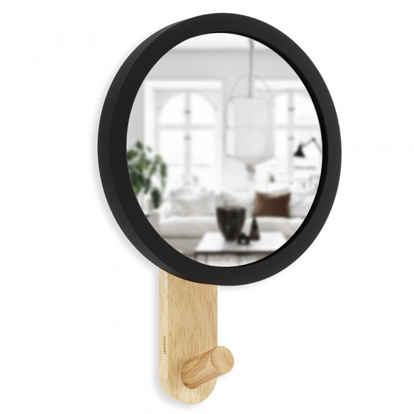 Hub spiegel met wandhaak van Umbra
