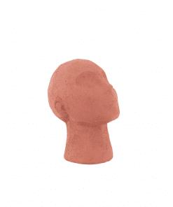 Beeldje hoofd terracotta 02