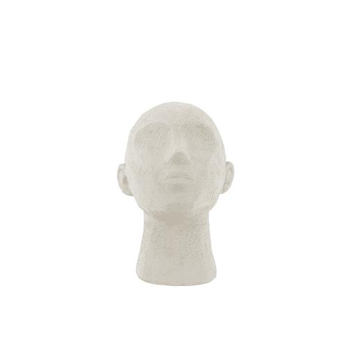 ornament hoofd wit van Present time