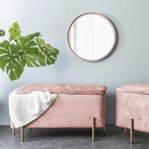 Poef snog roze van Leitmnotiv sfeerfoto