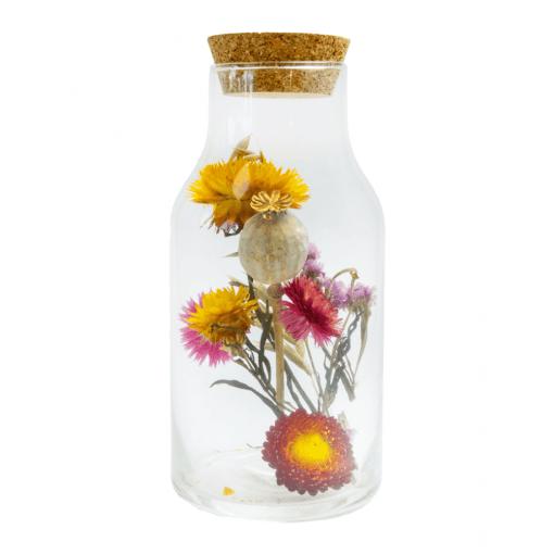 Flesje Floor met droogbloemen van Skandinavien