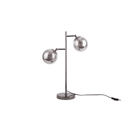Tafellamp shimmer grijs