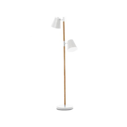 Vloerlamp Rubi wit van leitmotiv