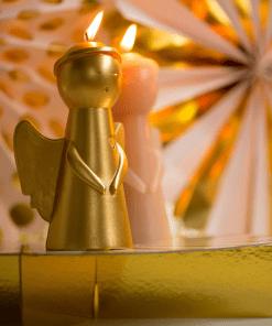 Sfeerfoto engelen kaarsen van Rustik Lys