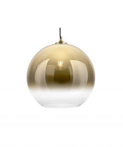 Hanglamp bubble goud