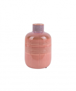 Vaas bottle roze medium van Present Time