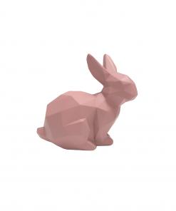 Beeldje van roze konijn van Present Time