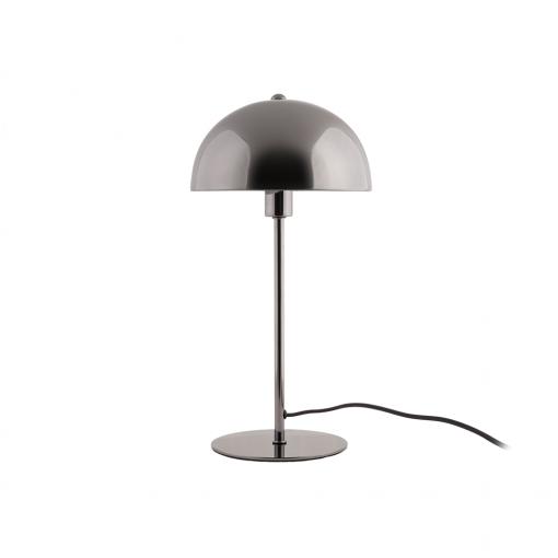 Tischleuchte Bonnet Metall rauchig grau von Leitmotiv