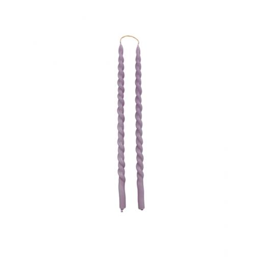 Swirl dinerkaars slim lavender van Rustik Lys