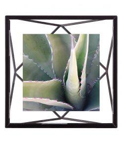Voorkant zwart fotolijstje van Umbra 10 x 10 cm